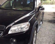 Cần bán Chevrolet Captiva sản xuất năm 2008, màu đen  giá 350 triệu tại Trà Vinh