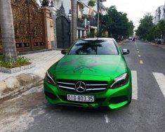 Cần bán Mercedes C200 đời 2018, màu xanh lam chính chủ giá 1 tỷ 420 tr tại Tp.HCM
