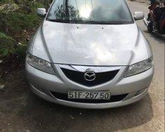 Cần bán gấp Mazda 6 sản xuất năm 2004, màu bạc giá 218 triệu tại Tp.HCM