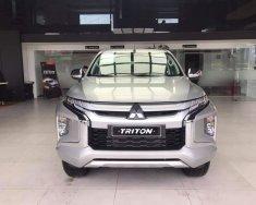 Bán xe Mitsubishi Triton 4x2 AT 2019, tại Quảng Trị, màu bạc, nhập khẩu, giá 730tr, hỗ trợ góp 80% giá 730 triệu tại Quảng Trị