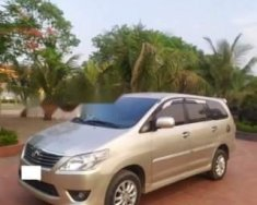 Gia đình cần bán chiếc xe ô tô Toyota Innova 2.0E màu ghi vàng, Sx 2012, sử dụng 2013 giá 415 triệu tại Hà Nội