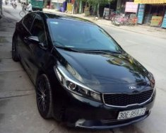 Cần bán Kia Cerato năm sản xuất 2017, màu đen chính chủ giá 525 triệu tại Hà Nội