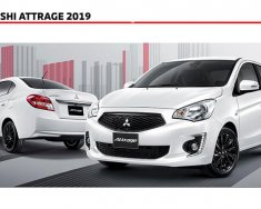 [HOT] Mitsubishi Attrage đời 2019, màu trắng, nhập khẩu nguyên chiếc, giá chỉ 375 triệu giá 375 triệu tại Đà Nẵng