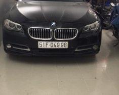 Cần bán lại xe BMW 520i đăng ký lần đầu 2014, màu đen nhập giá 1 tỷ 350 tr tại Tp.HCM