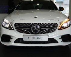 Giá xe Mercedes C300 AMG 2019: Thông số, giá lăn bánh (11/2019) giảm tiền mặt, tặng bảo hiểm và phụ kiện chính hãng giá 1 tỷ 897 tr tại Tp.HCM