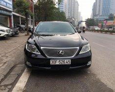 Bán ô tô Lexus LS 460L 2009, màu đen, nhập khẩu nguyên chiếc giá 1 tỷ 290 tr tại Hà Nội