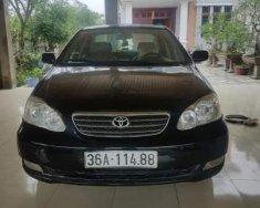 Bán Toyota Corolla altis 2005, màu đen xe gia đình giá 249 triệu tại Thanh Hóa
