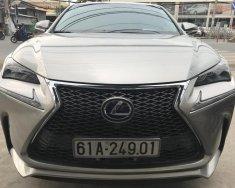 Bán xe Lexus NX sản xuất 2015, màu xám, nhập khẩu nguyên chiếc giá 2 tỷ 120 tr tại Tp.HCM