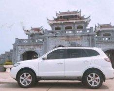 Bán ô tô Hyundai Santa Fe SLX sản xuất 2009, màu trắng, nhập khẩu giá 575 triệu tại Bắc Giang