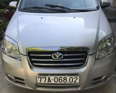 Gia đình bán xe Daewoo Gentra đời 2009, màu bạc giá 165 triệu tại Bình Định