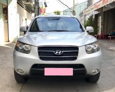 Bán xe Hyundai Santafe 2009, số sàn, màu bạc, gia đình, chính chủ giá 393 triệu tại Tp.HCM