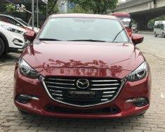 Bán xe Mazda 3 1.5 Facelift đời 2017, màu đỏ giá 635 triệu tại Hà Nội