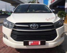 Cần bán lại xe Toyota Innova sản xuất năm 2018, màu trắng số sàn giá 750 triệu tại Tp.HCM