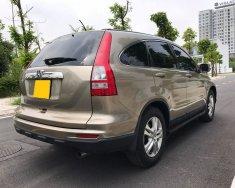 Cần bán xe Honda CRV 2010 at bảng 2.4 Full màu vàng cát giá 515 triệu tại Tp.HCM