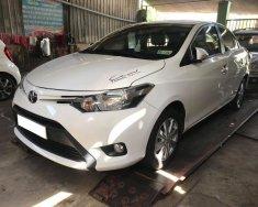 Cần bán xe Toyota Vios E 2016 tự động màu trắng giá 458 triệu tại Tp.HCM