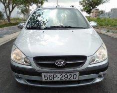 Cần bán Hyundai Getz đời 2010, màu bạc, xe nhập xe gia đình giá 239 triệu tại Tp.HCM