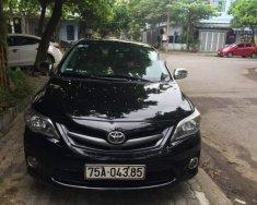 Cần bán Toyota Corolla altis sản xuất 2013, màu đen chính chủ giá 585 triệu tại Đà Nẵng