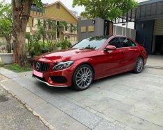 Cần tiền bán xe C300 SX 2018, màu đỏ, bản AMG full option, chính chủ giá 1 tỷ 670 tr tại Tp.HCM