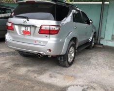 Bán Toyota Fortuner 2.7V đời 2009, số tự động màu bạc giá 445 triệu tại Quảng Ninh