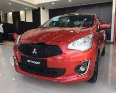 Bán Mitsubishi Attrage năm sản xuất 2019, màu đỏ, nhập khẩu Thái giá 475 triệu tại Đà Nẵng