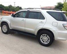 Bán Toyota Fortuner G đời 2013, màu bạc số sàn giá 739 triệu tại Hà Nội