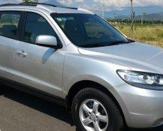 Cần bán xe Hyundai Santafe 2009 số sàn, màu bạc cực mới giá 387 triệu tại Tp.HCM