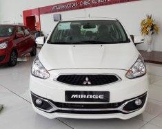 Bán Mitsubishi Mirage CVT Eco đời 2019, màu trắng, nhập khẩu nguyên chiếc giá 395 triệu tại Quảng Bình