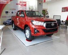 Bán xe Toyota Hilux 2.4G 2019, màu đỏ, nhập khẩu, xe mới hoàn toàn giá 675 triệu tại Tp.HCM