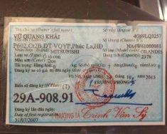 Cần bán xe Mitsubishi Grandis sản xuất 2007, màu đen, giá chỉ 315 triệu giá 315 triệu tại Hà Nội