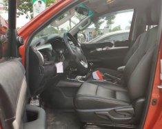 Bán xe Toyota Hilux 4x4 MT 2015, màu đỏ, nhập khẩu, số sàn giá 570 triệu tại Hà Nội