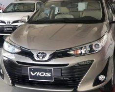 Bán xe Toyota Vios G đời 2019, màu vàng cát, 606tr giá 606 triệu tại Bến Tre