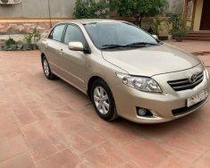 Bán ô tô Toyota Corolla altis 1.8G AT sản xuất 2010, màu vàng chính chủ giá 460 triệu tại Hà Nội