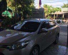 Cần bán xe Toyota Vios E 1.5 năm 2015, màu vàng cát giá 430 triệu tại Hà Tĩnh