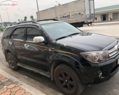 Bán xe Toyota Fortuner 2.7V 4x4 AT năm 2010, màu đen xe gia đình giá cạnh tranh giá 550 triệu tại Hà Nội