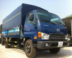 Cần bán Hyundai Mighty HD800, Mighty 2017 2017, màu xanh lam tải 8 tấn thùng 5m1 giá 610 triệu tại Hà Nội