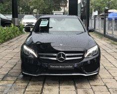Mercedes C300 AMG đen chạy ít, xe hãng bán giá 1 tỷ 800 tr tại Tp.HCM