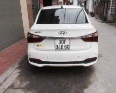 Bán Hyundai Grand i10 đời 2018, màu trắng, xe gia đình   giá 385 triệu tại Hà Nội