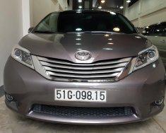 Bán xe Toyota Sienna Limited 3.5 AT AWD năm 2014, màu xám, nhập khẩu, full option giá 2 tỷ 750 tr tại Tp.HCM