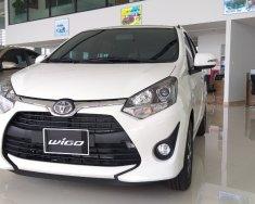 Bán Toyota Wigo 1.2 AT 2019, màu trắng giá 375 triệu tại Thanh Hóa