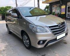 Cần bán xe Toyota Innova 2016 số sàn màu vàng cát giá 553 triệu tại Tp.HCM