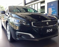 Cần bán xe Peugeot 508 sedan nhập khẩu Pháp, màu đen, hỗ trợ trả góp 80%, giao xe ngay giá 1 tỷ 190 tr tại Hà Nội