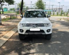 Gia đình cần bán xe Mitsubishi Pajero sport 2016 số sàn máy dầu, màu trắng giá 586 triệu tại Tp.HCM