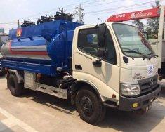 Xe bồn Hino 6 khối - Bồn xăng dầu 6 khối - xe bồn petrolimex 6 khối giá 800 triệu tại Tp.HCM