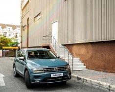 Bán ô tô Volkswagen Tiguan LUXURY 2018, màu xanh lục, xe Đức nhập khẩu giá 1 tỷ 849 tr tại Tp.HCM