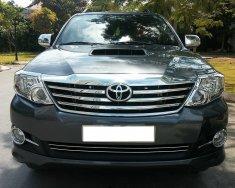 Cần bán xe Toyota Fortuner 2015 mt dầu màu xám chì zin giá 776 triệu tại Tp.HCM