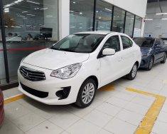 Bán ô tô Mitsubishi Attrage 1.2 MT Eco 2019, màu trắng, nhập khẩu nguyên chiếc giá 375 triệu tại Hà Nội