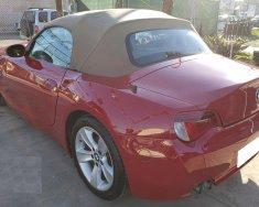 Bán xe Bmw z4 đời 2007 tự động màu đỏ sport 2 chỗ, mui xếp giá 516 triệu tại Tp.HCM