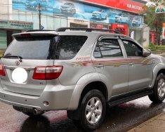 Bán Toyota Fortuner 2.7V đời 2009, màu bạc, số tự động giá 460 triệu tại Tp.HCM