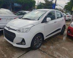 Bán xe Hyundai Grand i10 đời 2019, màu trắng, nhập khẩu giá cạnh tranh giá 372 triệu tại Vĩnh Long