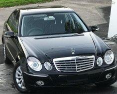 Bán Mercedes E280 năm sản xuất 2008, màu đen   giá 550 triệu tại Hà Nội